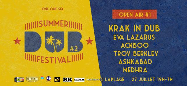 Summer Dub Festival – Open air gratuit#1