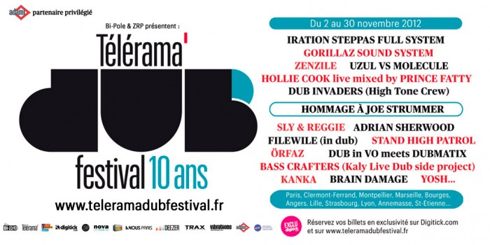 Télérama Dub Festival 2012