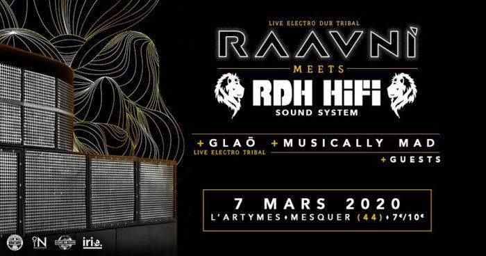 Raavni meets RDH Hi-Fi + Glaö + Musically Mad