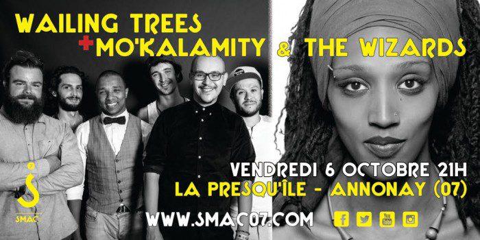 Wailing trees + Mo'Kalamity & The Wizards - Annonay