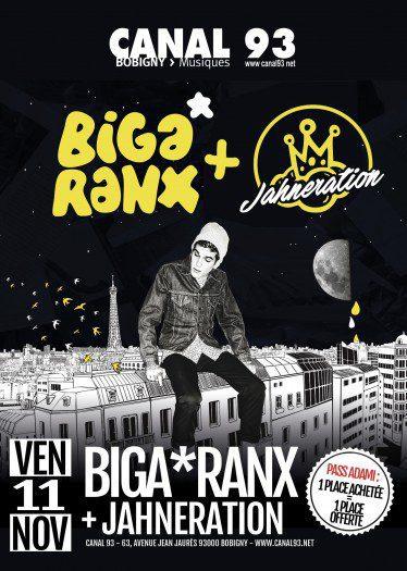 Biga*Ranx + Jahneration