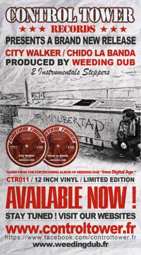 "Weeding Dub - 12"" Control Tower Records"