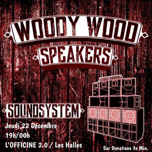 Woody Wood Speackers