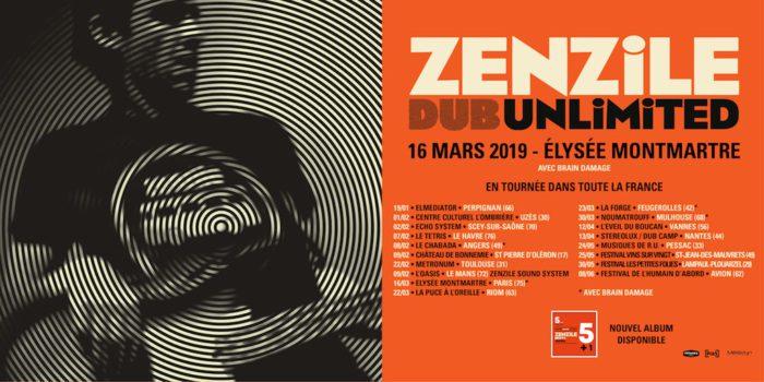 Zenzile - Dub Unlimited Tour 2019