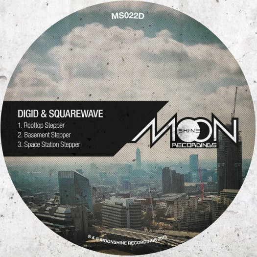 Digid & Squarewave - Rooftop Stepper E.P