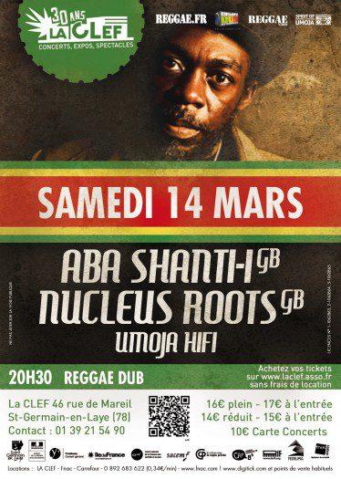 Soirée Reggae/Dub à La Clef