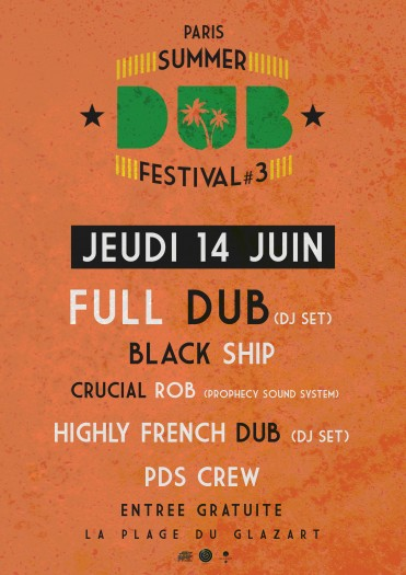 Summer Dub Festival Opening Party