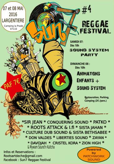 Sun7 Reggae Festival #4