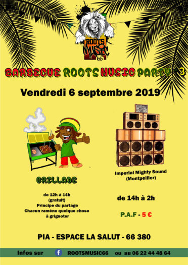 Barbecue Roots Music Party #3