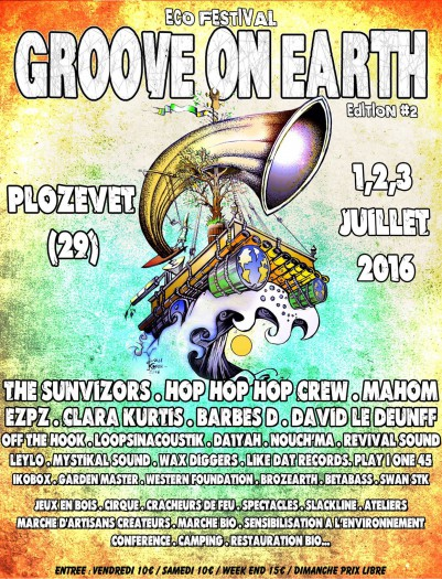 Groove on earth festival
