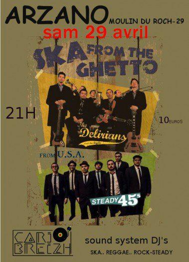 The Delirians & Steady45's