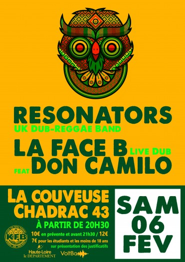 Resonators + La Face B feat Don Camilo + Selecta Dawjah