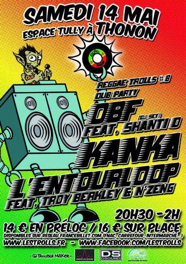Reggae Trolls #8 Dub Party
