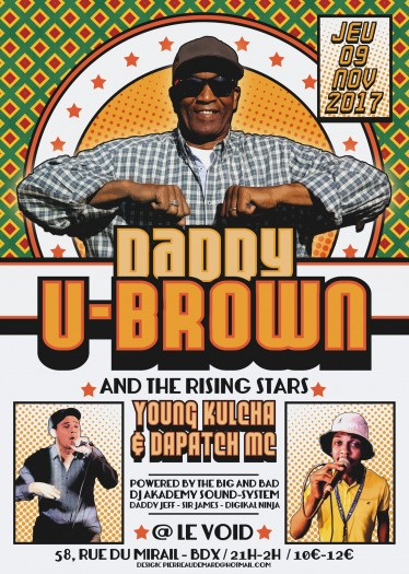 U Brown + Young Kulcha + Dapatch with DJ Akademy Sound System