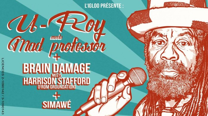 U-Roy & Mad Professor, Brain Damage & Harrisson Stafford, Simawe