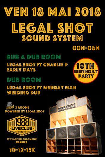 Legal Shot 18th Birthday Party – Style & Fashion#5
