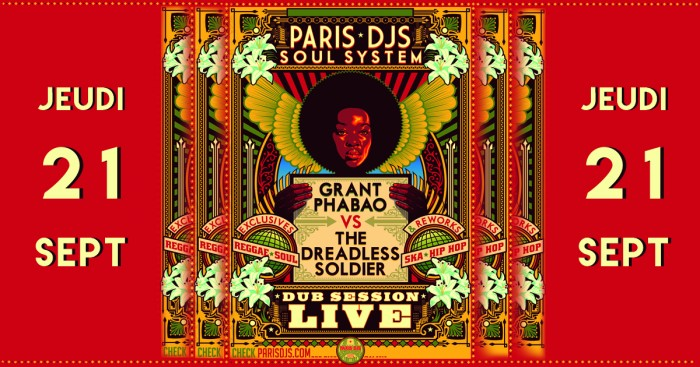 Paris DJs Soul System + Green Tingz + Little Big Man