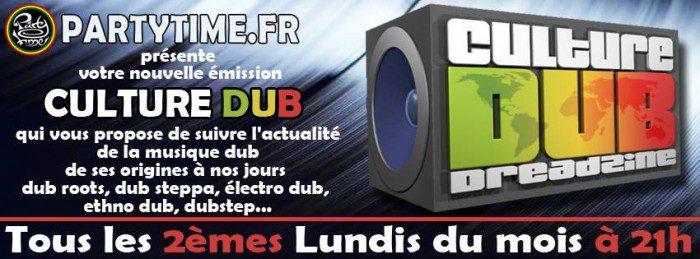 Culture Dub Radio Show sur Party Time