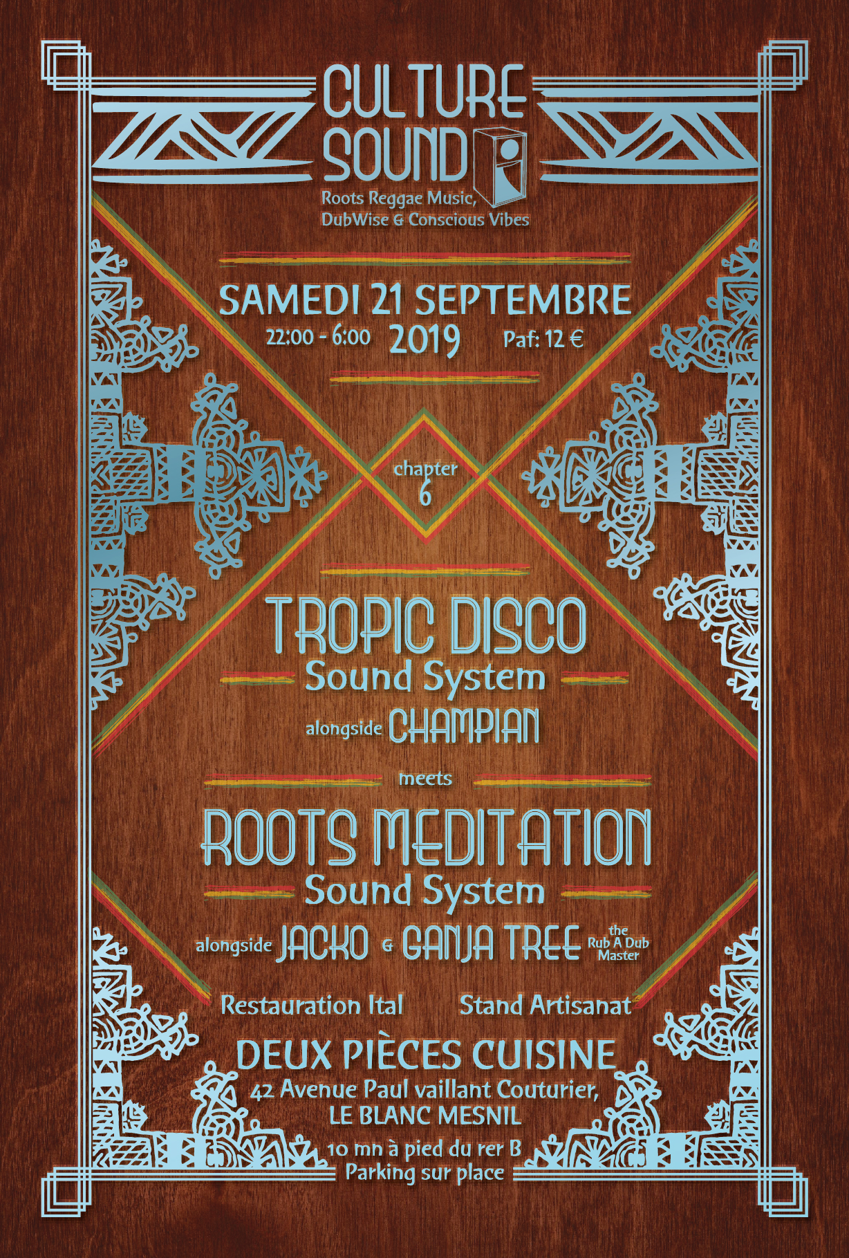 Paris Dub Session #2 – Glazart (75) – 27 Septembre 2014