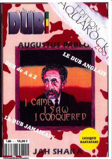 """Culture Dub n°00 page 1 Couverture n°0 """"Spécial Aquarock"""" Août 2001"""