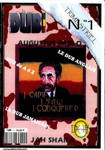 Culture Dub n°01 page 1 Couverture n°1 Septembre 2001