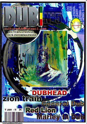 Culture Dub n°05 page 1 Couverture n°5 Septembre 2002