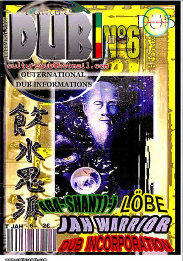Culture Dub n°06 page 1 Couverture n°6 Septembre 2012