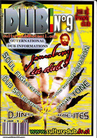 Culture Dub n°09 page 1 Couverture n°9 Septembre 2003
