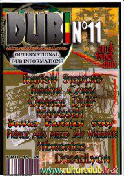 Culture Dub n°11 page 1 Couverture n°11 Avril 2004