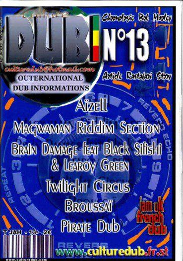 Culture Dub n°13 page 1 Couverture n°13 Février 2005
