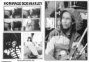 Culture Dub n°13 pages 6-7 Hommage à Bob Marley - Photos Rolk & Folk juin 1981
