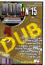Culture Dub n°15 page 1 Couverture n°15 Août 2005