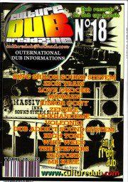 Culture Dub n°18 page 1 Couverture n°18 Septembre 2006