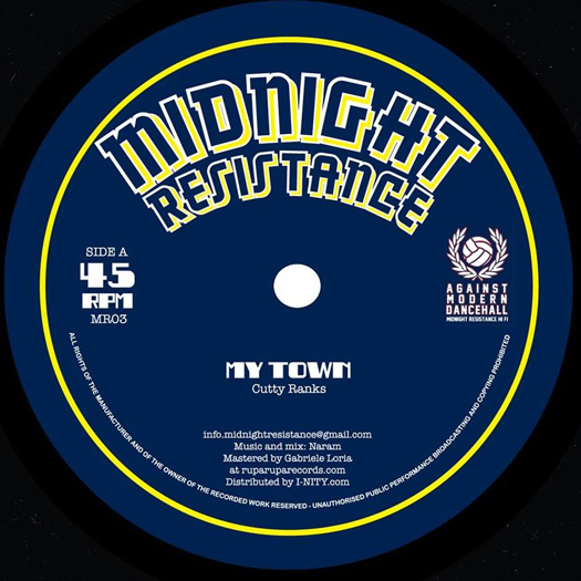 "Naram feat. Cutty Ranks & Tippa Lee - 12"" Midnight Resistance"