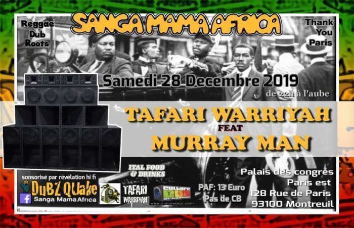 Sanga Mama Africa & Tafari Warriyah feat. Murray Man