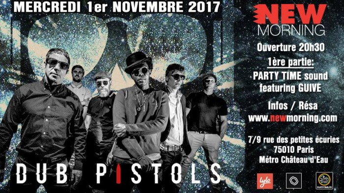 Dub Pistols + Party Time + Guive