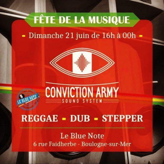 Fête de la musique – Conviction Army Sound System @ Boulogne Sur Mer