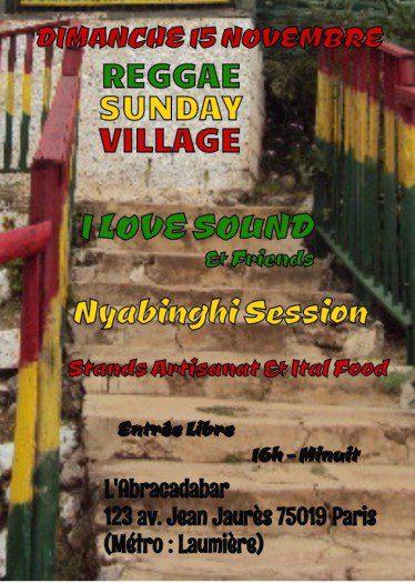 Reggae Sunday Village  (part 2)