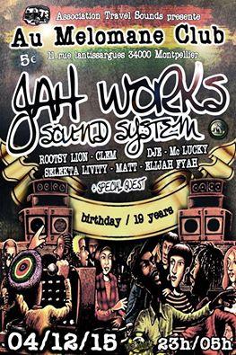 Jah Works Soundsystem Birthday
