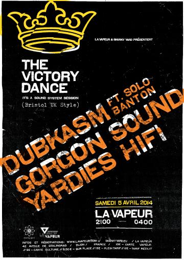 THE VICTORY DANCE * DUBKASM feat. SOLO BANTON & GORGON SOUND meet YARDIES HIFI