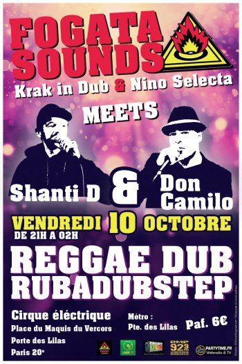 Fogata Sounds meets Shanti D & Don Camilo