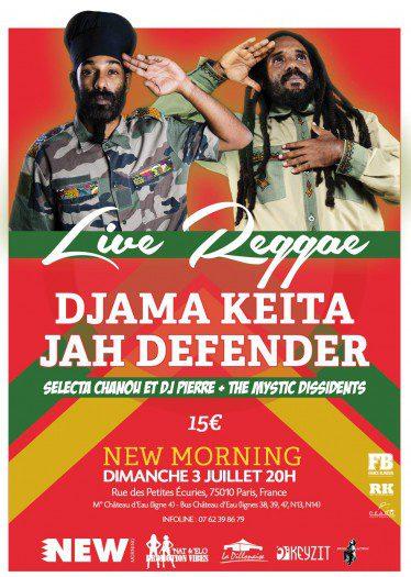 Djama Keita / Jah Defender