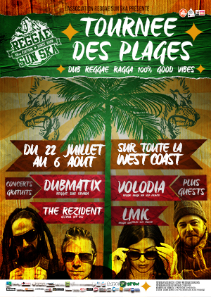 Tournée Des Plages Reggae Sun Ska 2015