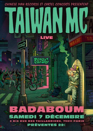 Taiwan MC @ Badaboum
