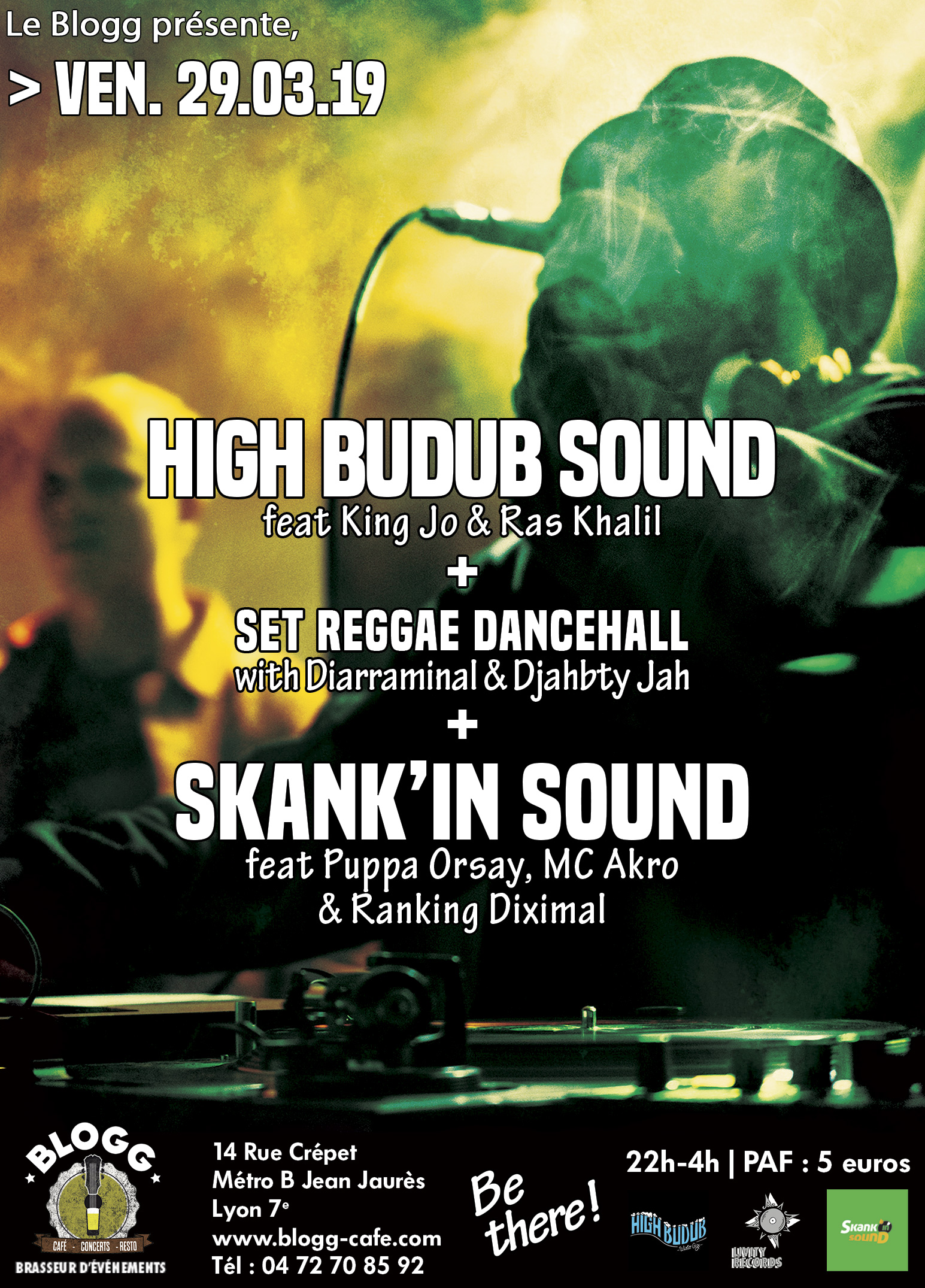 Skank'in Sound meets High Budub Sound + Guests