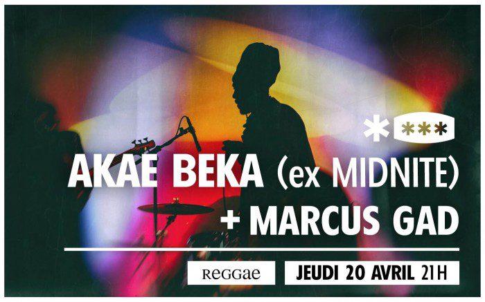 Akae Beka (ex Midnite) + Marcus Gad