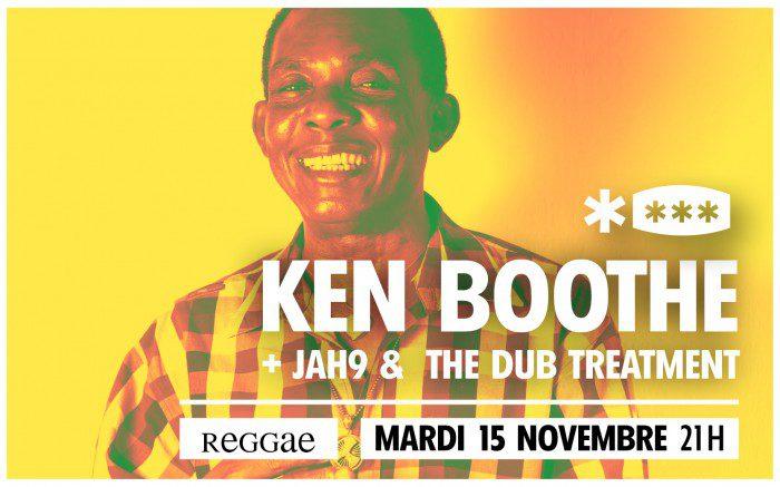 Ken Boothe + Jah9 @ Le Brise Glace