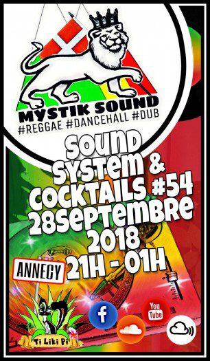 Sound system et Coktails  #54