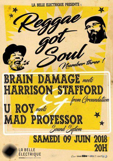 Brain Damage Meets Harrison Stafford + U Roy Meets Mad Professor