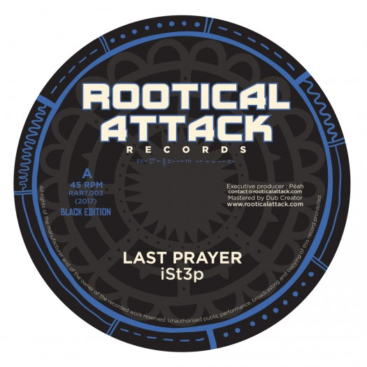 "iSt3p - 7"" Rootical Attack Records"